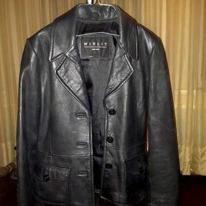 Vintage Winlit New York Leather Jacket